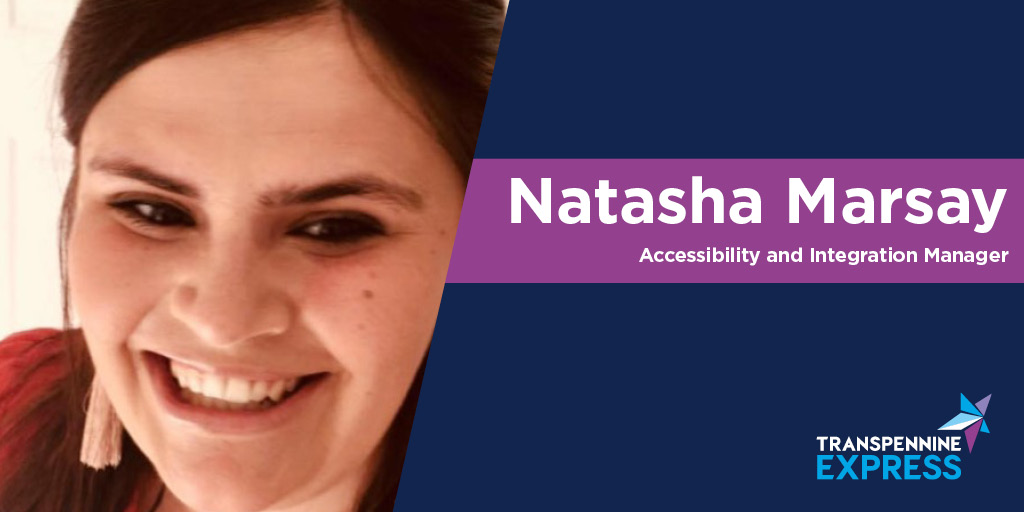 Image of Natasha Marsay, Accessibility and Integration Manager at TransPennine Express