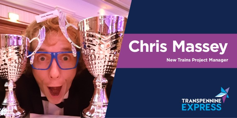 Chris Massey's intro image. He's the New Trains Project Manager
