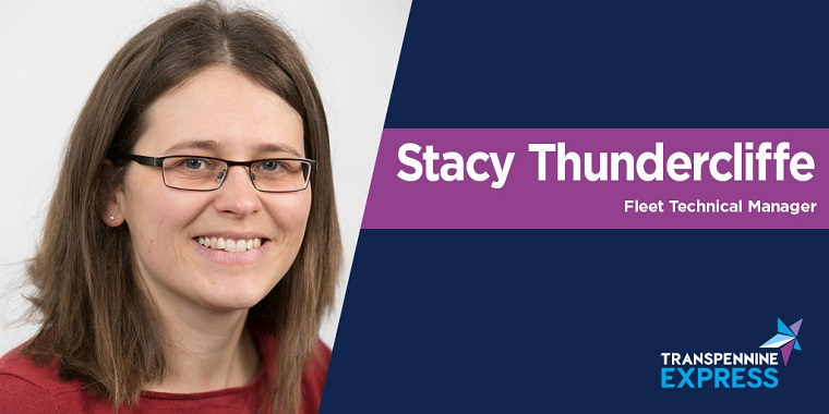 Image of Stacy Thundercliffe, Fleet Technical Manager at TransPennine Express