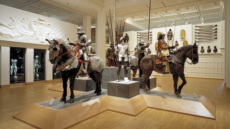 Royal Armouries Museum Leeds View of the War Gallery © Richard Davies
