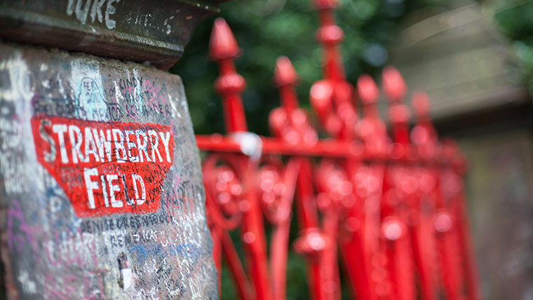 Strawberry Field is opening to the public for the first time in 2019