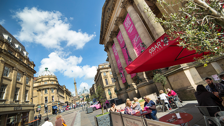 Grey Street Theatre Royal - © Newcastle Gateshead Initiative