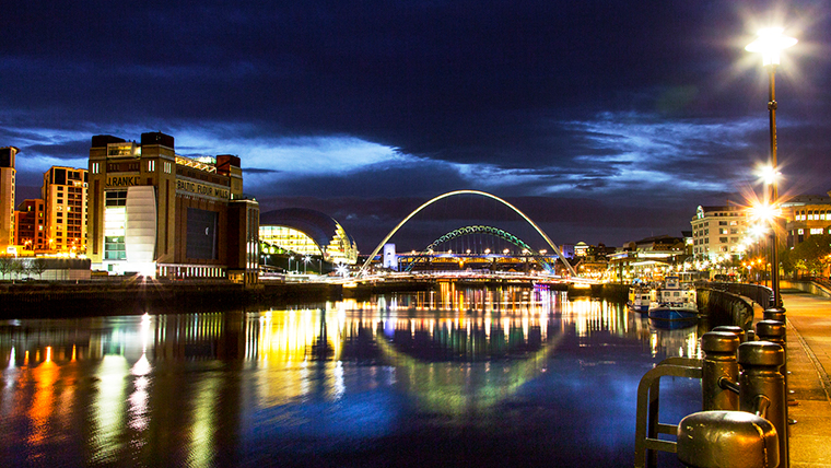 Newcastle's Nightlife © Visit Britain