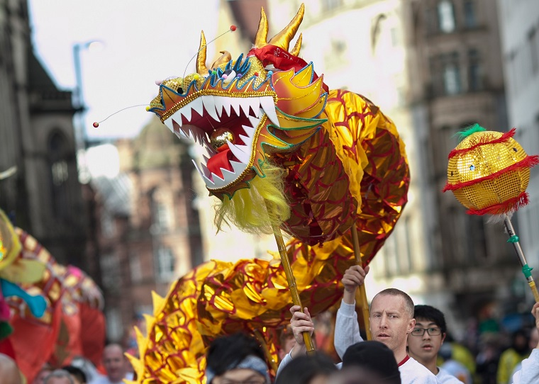 Chinese New Year Parade, Manchester