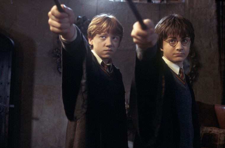Ron and Harry Potter (Warner Bros.)