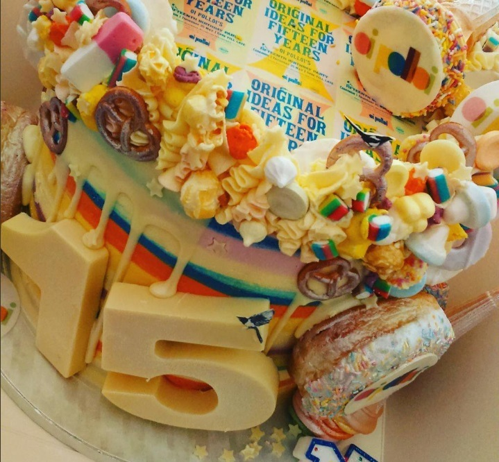 detailed look 0ad99 e06a8 Oi Polloi Birthday Cake, BakeOrama