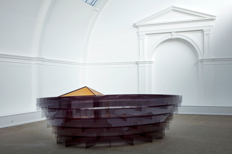 Arena by Alison Wilding at Leeds Art Gallery copyright Jerry Hardman