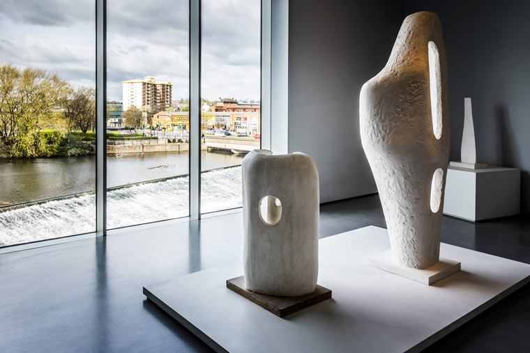 View from the Hepworth Wakefield credit Marc Atkins