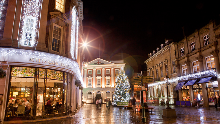 Christmas Shopping in York