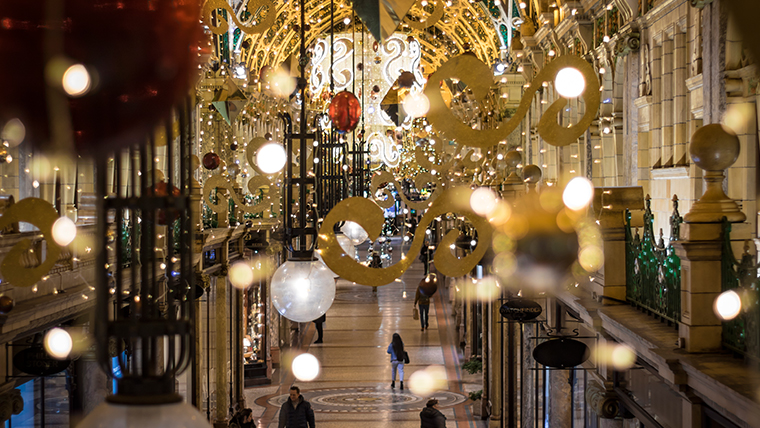 Leeds Victoria Quarter Christmas Decorations Carl Milner Photography for Visit Leeds