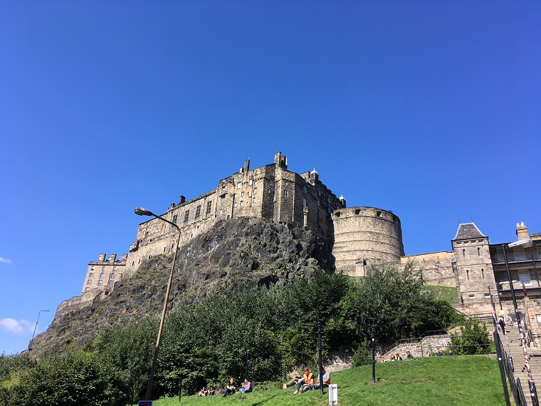 Edinburgh Castle, Behind The Screens