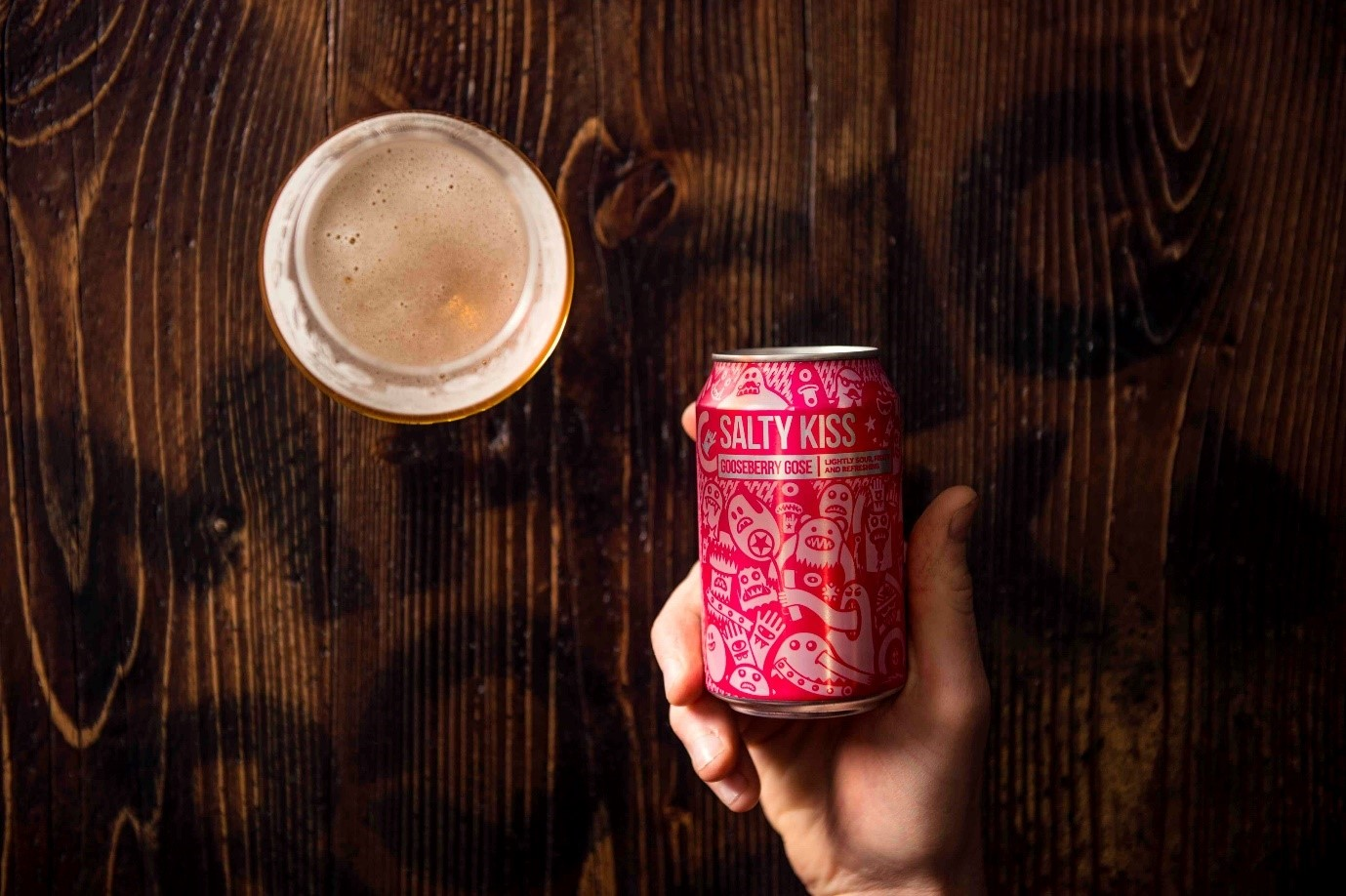 Magic Rock Brewery Salt Kiss can