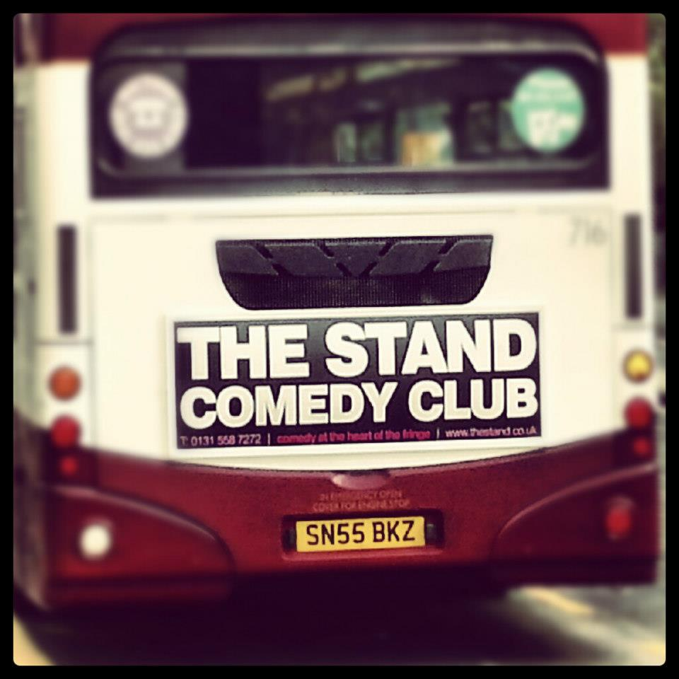 The stand comedy club logo