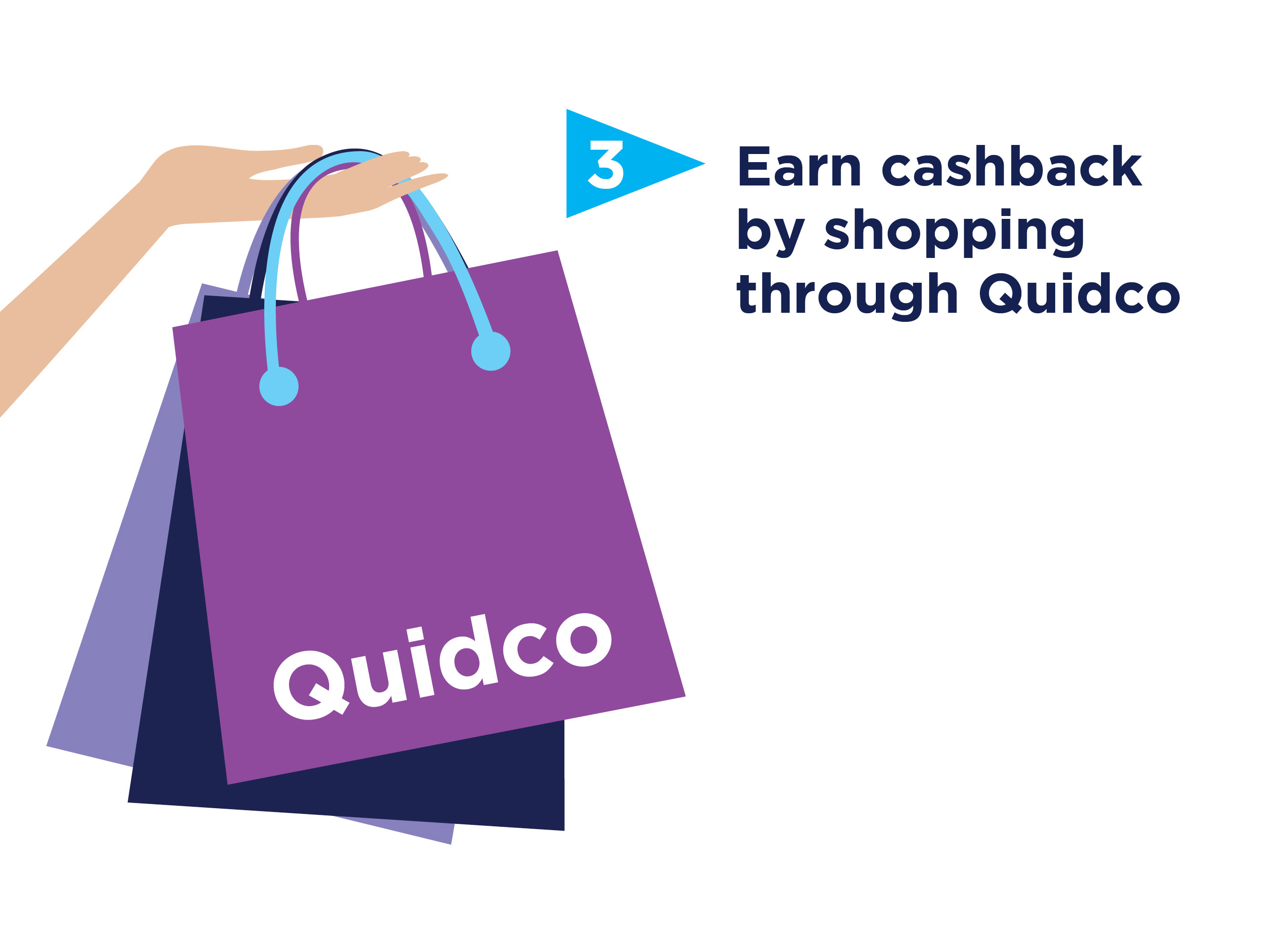 Earn cashback with Quidco