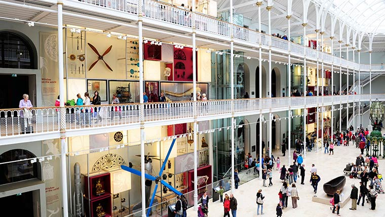 The National Museum Of Scotland, Edinburgh
