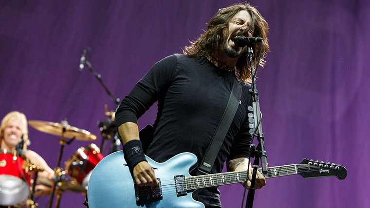 Rock out with headliners the Foo Fighters
