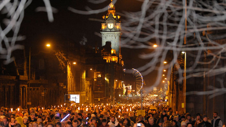 There's no better place to see in the New Year than Hogmanay capital Edinburgh
